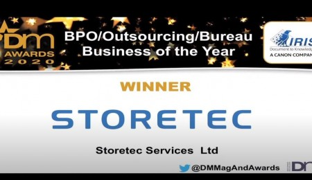 BPO Scanning Bureau Business of the Year 2020!