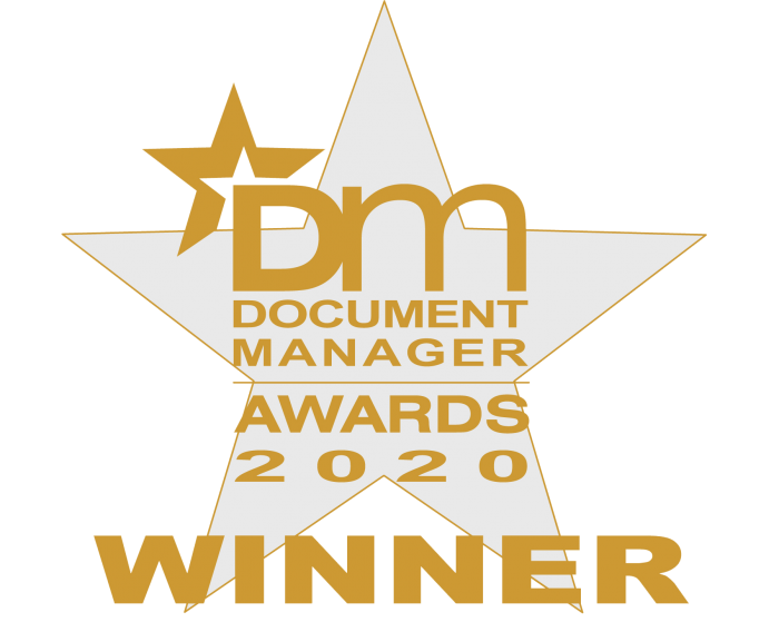 document manager awards 2019 icon