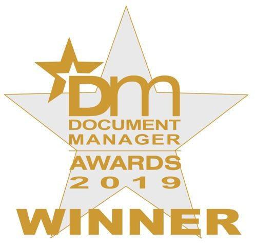 2019 document management award winners